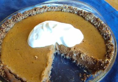 low-carb pumpkin pie - Photo © Laura Dolson Gonna try it tomorrow!