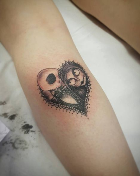 http://www.revelist.com/arts/nightmare-before-christmas-tattoos/5936/Because we all need some Skellington love, too./5/#/5