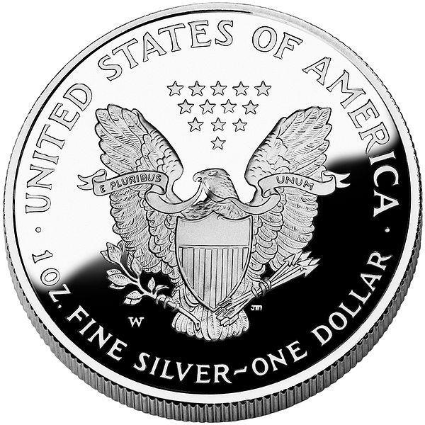 2005 Golden Hologram American Eagle One Dollar 1oz Fine Silver Coin Silver Coins Coins Fine Silver