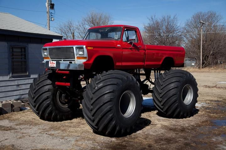 Thunder Beast. The story of this monster truck should be read by EVERY truck lover. You can find it on ford-trucks.com. Definitely worth the read.
