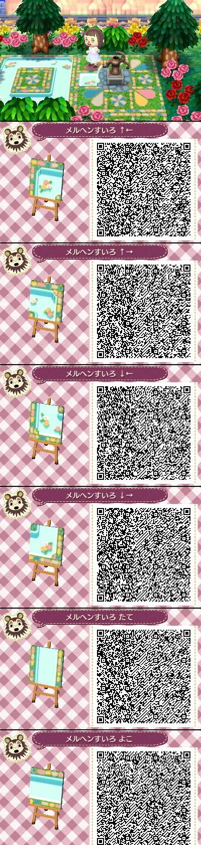55 best images about animal crossing new leaf qr codes for paths on pinterest animal crossing. Black Bedroom Furniture Sets. Home Design Ideas