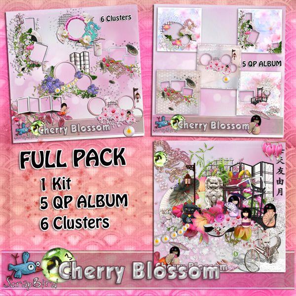 Cherry Blossom FULL PACK by Marie