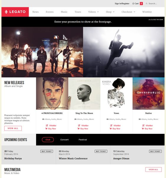 20 best 20 More of the Best Music WordPress Themes images on ...