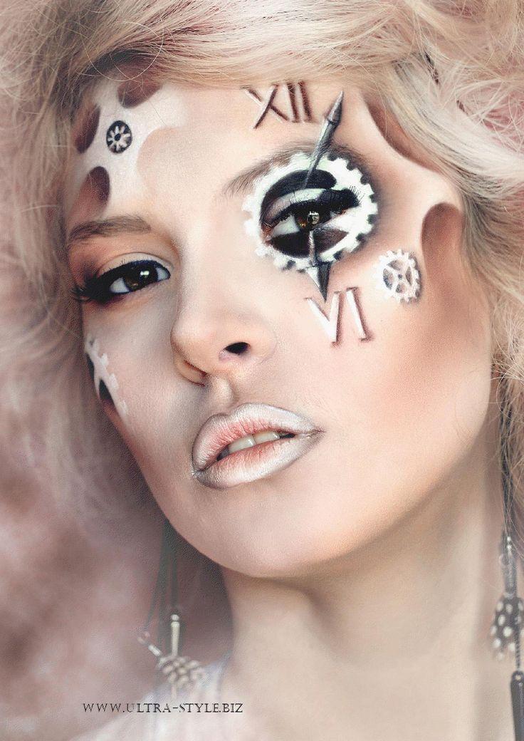 272 Best High Fashion Makeup & Fantasy Makeup Looks Images