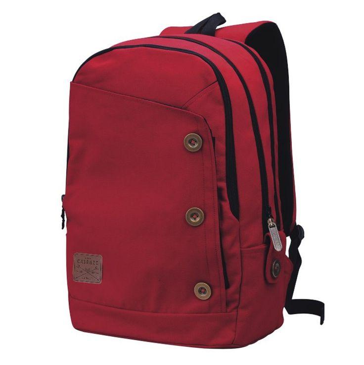 Tas Ransel Laptop / Backpack Casual Unisex Pria Wanita - ST 033. Produk fashion handmade asal Bandung dengan bahan nyaman digunakan, desain trendy dan tidak pasaran. Membuat tampil percaya diri.   #Catenzo #Tas Ransel