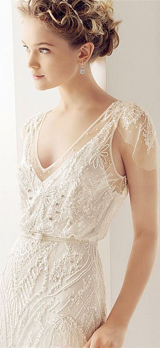 Wedding Dresses with Beads