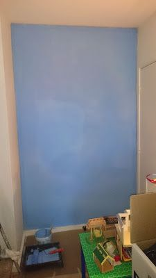 Got the wall painted