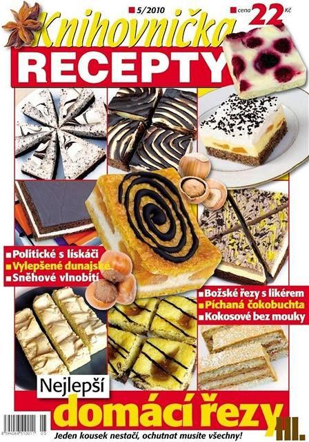 Titulka Knihovničky receptů 5/2010