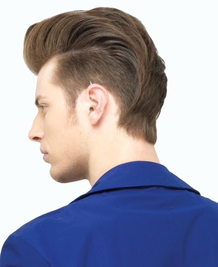 male undercut long hair