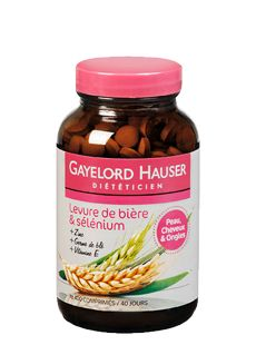 Levure de bière & selenium GAYELORD HAUSER
