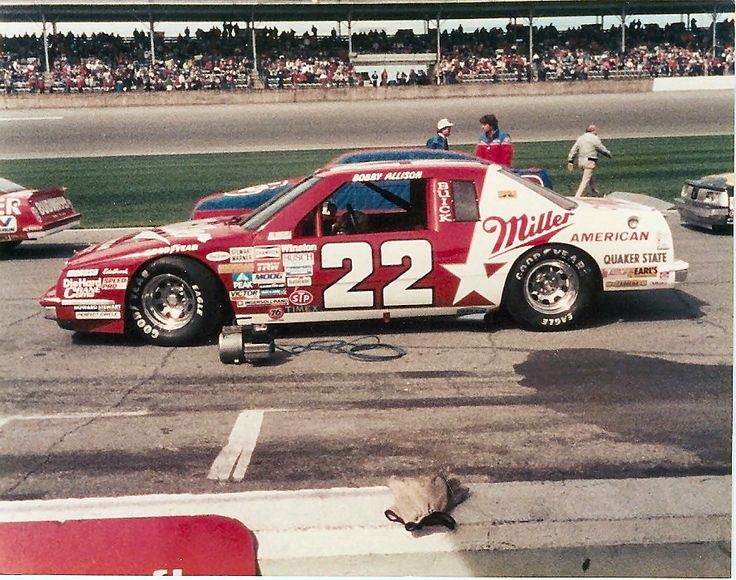 He also drove a #23 Miller High Life car akin to Bobby's 1983 championship paint scheme.