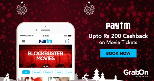 Plan to catch up on the latest releases this weekend? Check out these amazing #Paytm Movies coupons. #SaveOnGrabOn