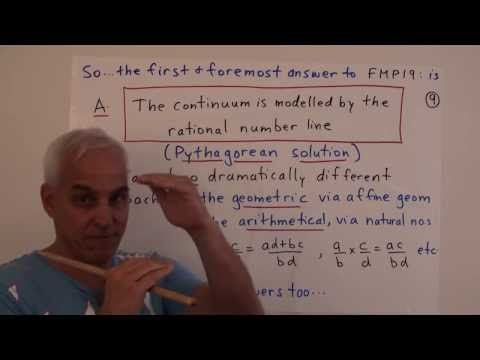 FamousMathProbs19a: The most fundamental and important problem in mathematics - YouTube