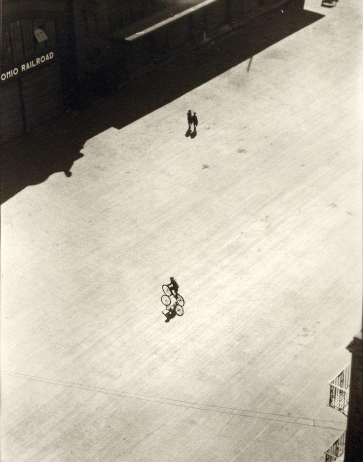 Ralph Steiner - Boy on Bike, 1922 / 1980