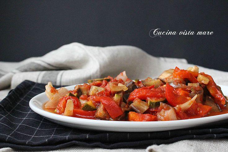 Ratatouille+di+verdure+nella+slow+cooker