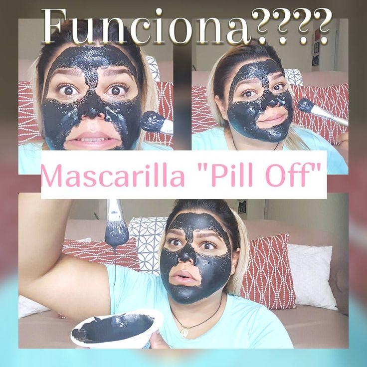 "Mascarilla Negra ""Pill Off"" Remueve Puntos Negros"