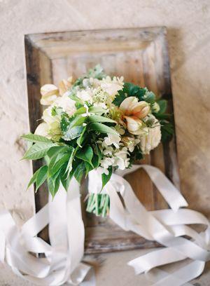 Romantic bridesmaids bouquet