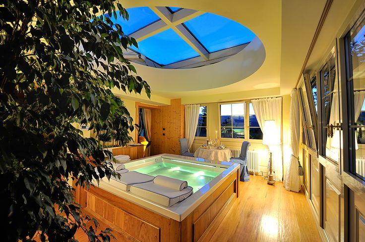 o forse nella nostra top suite preferite farvi una idro a celo aperto ......