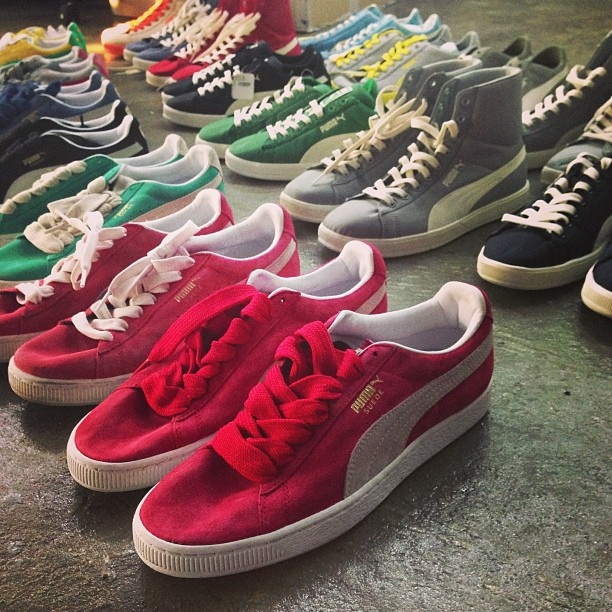 puma suede classic collection