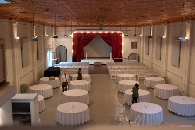 Wedding And Reception In Same Room Ideas