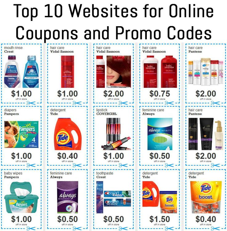It's common knowledge that clipping coupons can save significant money at the grocery story but what about ONLINE? Here are the Top 10 Websites for Online Coupons and Promo Codes! http://yofreesamples.com/money-saving-blog/top-10-websites-online-coupons-promo-codes/