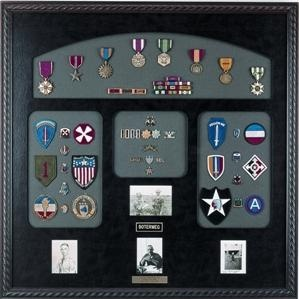 Honor Your Veteran  Display a family members medals proudly!