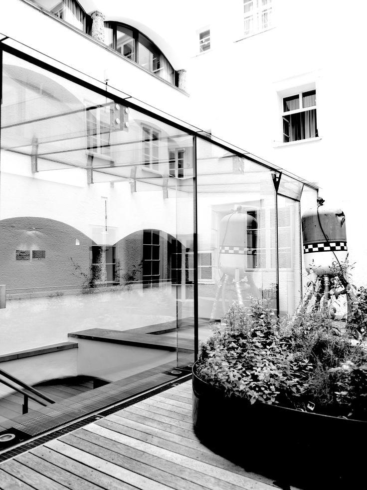 Inner Court, arthotel Blaue Gans, Salzburg, Austria