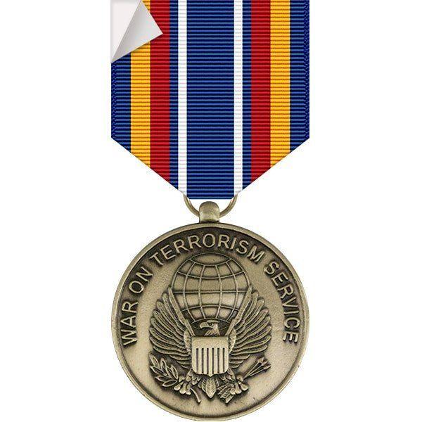 Global war on terrorism service medal sticker