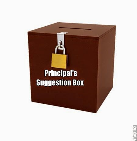 MzTeachuh Principalu0027s Suggestion Box Letter # 7 Education - suggestion letter
