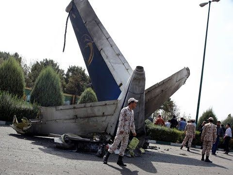 Commercial plane crashes in southern Iran, likely killing 66