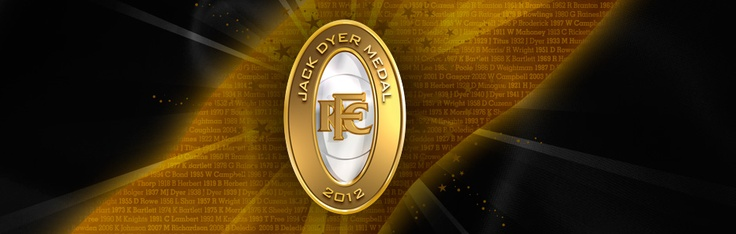Please let me be there!  Jack Dyer Medal