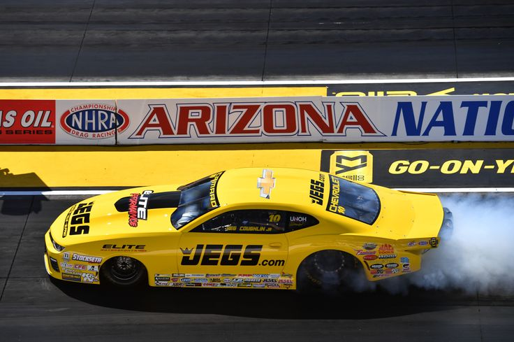 NHRA Mello Yello Team Chevy Elite Motorsports Mac Tools University of Northwestern Ohio Sparco Official Melling Performance Parts SealMaster Red Line Synthetic Oil Justice Brothers Global Electronic Technology WIX Filters #NHRA #ArizonaNats #NHRAonFOX