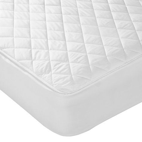 Buy John Lewis Micro-Fresh Waterproof Quilted Mattress Protector Online at johnlewis.com