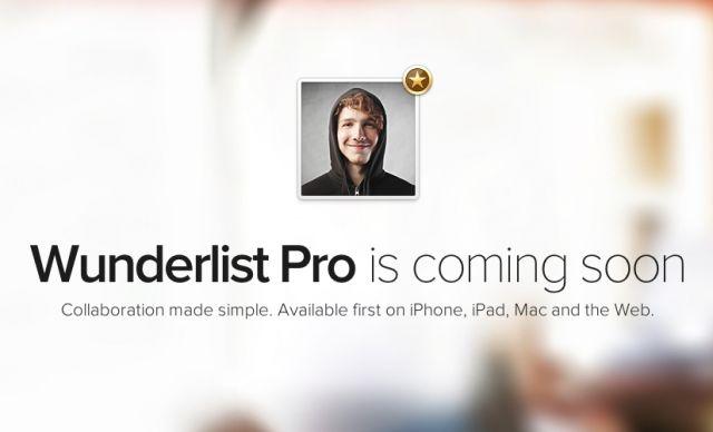 Задава се Wunderlist Pro - майсторски бизнес инструмент за управление на задачи #Wunderlist