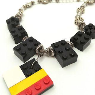 repurposed lego jewelry
