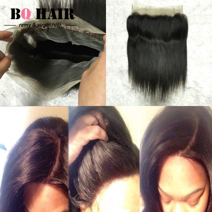 Straight human hair 360 lace frontal peerless virgin hair just need $60