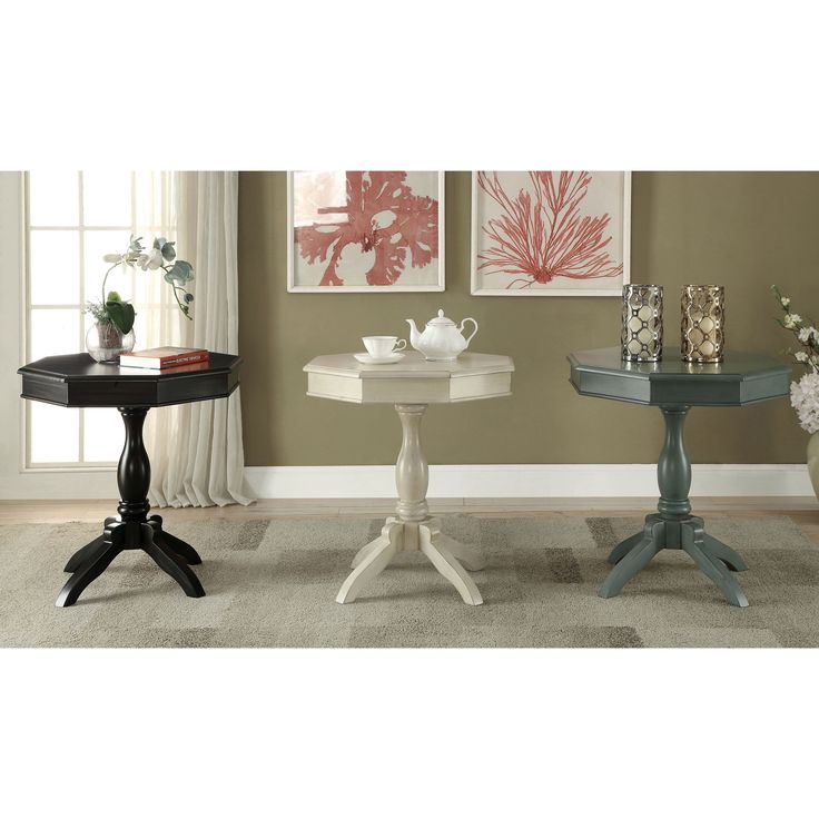 1000 Ideas About Octagon Table On Pinterest Painted End