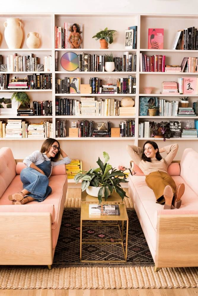 The Wing NYC Sofas Audrey Gelman Lauren Kassan