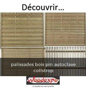 1000 id es propos de palissades bois sur pinterest for Cloture jardin 78