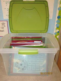 New Adventures in First Grade: Math Station Meyhem!