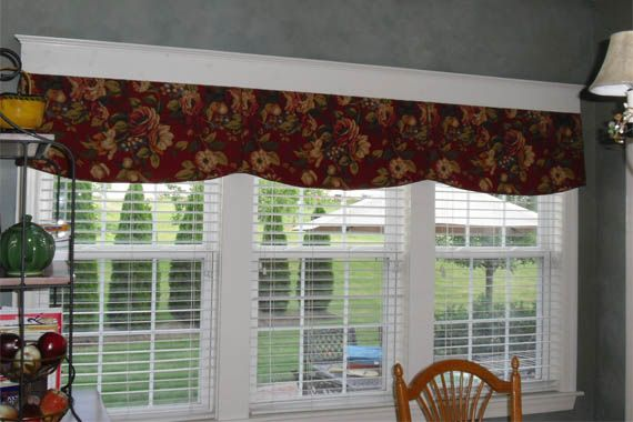 34 best window treatments images on pinterest - Country kitchen windows ...