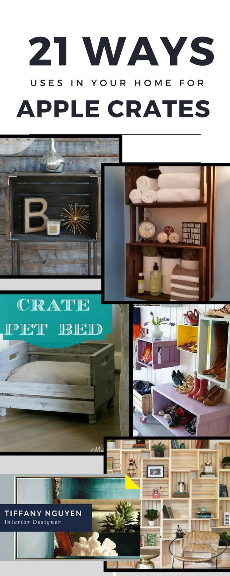 Apple box boutique inc christmas hours - Diy Apple Crate Box Shelves Wall Unit Coffee Table Interior