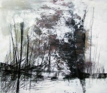 "Saatchi Art Artist Marjan Fahimi; Painting, """"Spighe-III"""" #art"