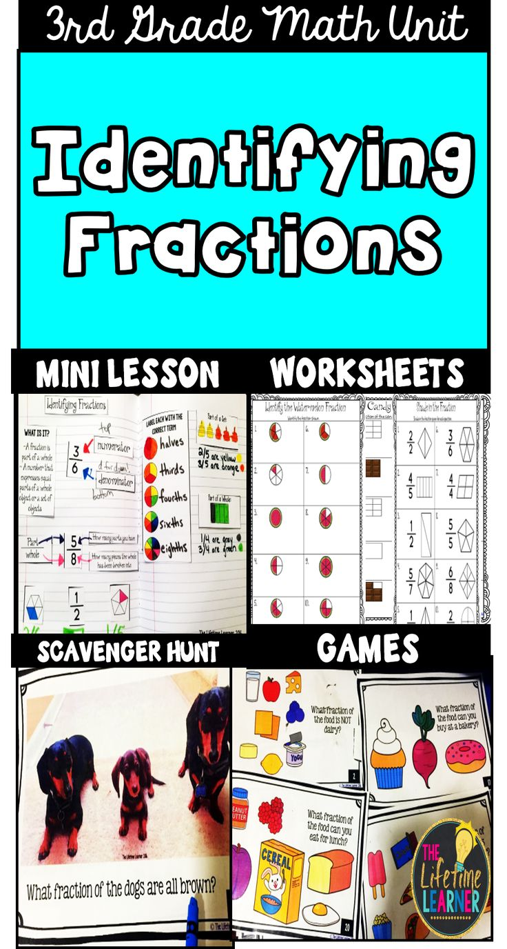 Best 30 Tutoring--Math--Fractions ideas on Pinterest | Activities ...