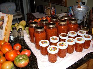 Belle Adorn: The Best Salsa Recipe for Canning