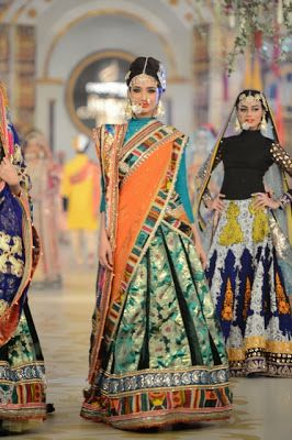 Pakistani Bridal Fashion - Pantene Bridal Couture Week PBCW 2013 - Ali Xeeshan