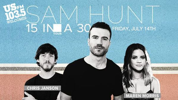 Enter to win tickets to see Sam Hunt in concert!   http://ulink.tv/176658-28eupg_link