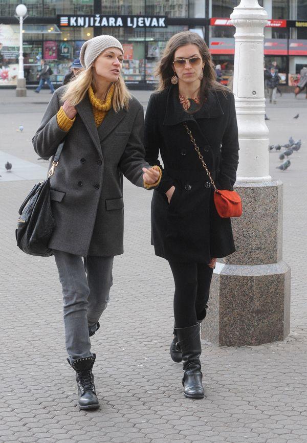 Tamara Garbajs i Ornela Vi�tica - www.gloria.hr | Zagreb - ulicna ...