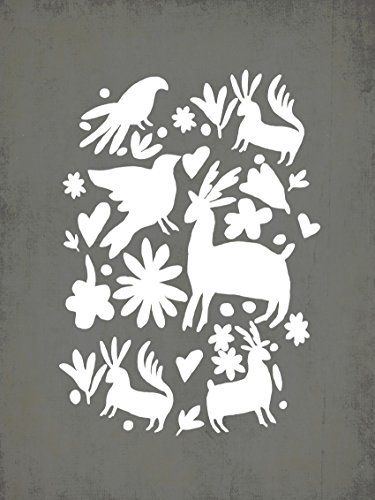 Gray Otomi Wall Art Print 24x18, Kid's Wall Art, Kid's Room Decor, Mexican Wall Art, Nursery Decor, Gender Neutral, Children's Room Decor, Family Room Children Inspire Design http://smile.amazon.com/dp/B00P8F367Q/ref=cm_sw_r_pi_dp_Obxewb1CGXBJ0