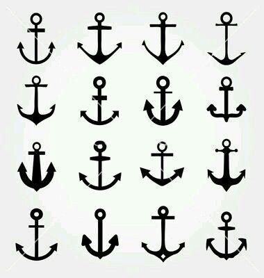 Afbeeldingsresultaat voor simple anchor tattoo